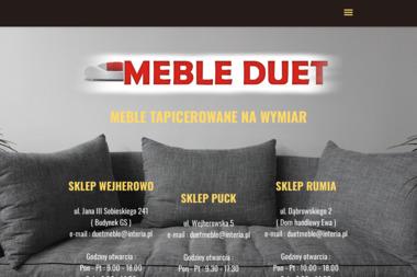 Duet Meble - Wyposażenie wnętrz Wejherowo