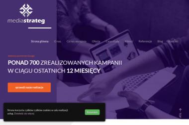 Media Strateg. Dom mediowy, agencja mediowa - Agencja Reklamowa Brzeg Dolny
