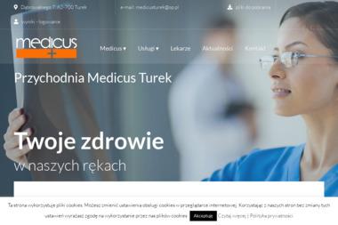 "Spółka partnerska Lekarzy ""MEDICUS"" - Rehabilitanci medyczni Turek"