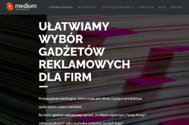 Medium Agencja Reklamowa - Kosze prezentowe Gliwice