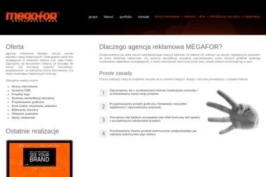 MEGAFOR - Pozycjonowanie stron Kalisz