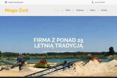 Mega-Żwir s.c. - Skład budowlany Zimna Woda