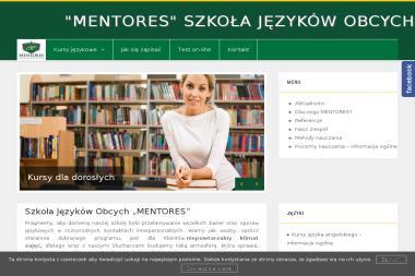 MENTORES Szkoła Języków Obcych - Nauczanie Języków Suchy Las