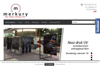 Merkury Reklamy - Usługi Reklamowe Lubin