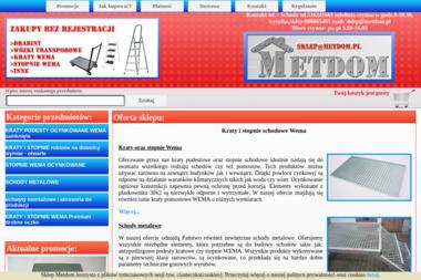 Metdom. Materiały budowlane, artykuły ogrodnicze, artykuły hydrauliczne - Sklep Budowlany Markuszów