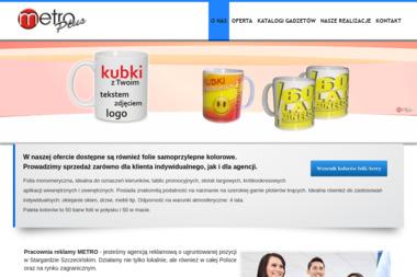 Agencja Reklamowa PPUH Metro Plus - Drukarnia Stargard
