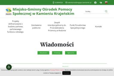 Miejsko Gminny Ośrodek Pomocy Społecznej w Kamieniu Krajeńskim - Pomoc domowa Kamień Krajeński