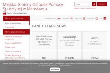 Miejsko Gminny Ośrodek Pomocy Społecznej - Pomoc domowa Mirosławiec