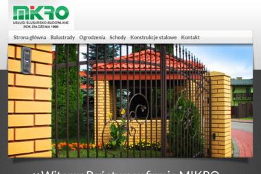 MIKRO - Schody Zewnętrzne Puławy