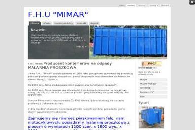 FHU Mimar - Piaskowanie Metali Gliwice