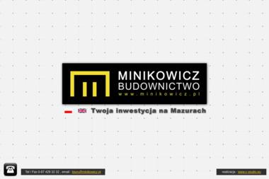Przedsiębiorstwo Budowlane M. Minikowicz, M. Minikowicz sp.j. - Elewacje Giżycko