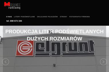 Mirex Reklamy - Pozyskiwanie Klientów Kiełpino