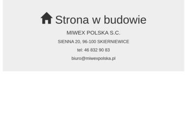 Miwex Polska S.C. Elektronarzędzia, spawanie, serwis narzędzi - Dom Jednorodzinny Skierniewice