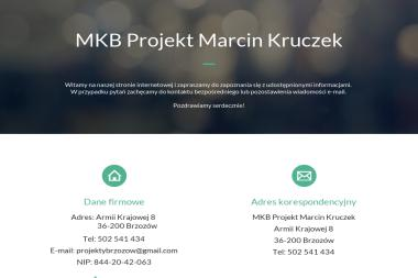 MKB PROJEKT Marcin Kruczek - Projekty domów Brzozów