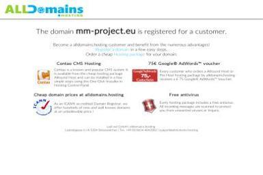 MM Project Studio. Strony internetowe, strony www - Wizytówki Częstochowa