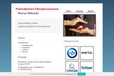 Pośrednictwo Ubezpieczeniowe Mikulski Marian - Ubezpieczenie samochodu Rabka-Zdrój