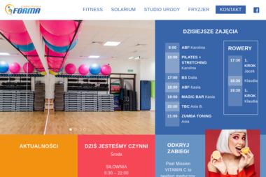 Forma Studio Fitness - Trener personalny Szczecin