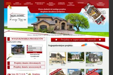 Mojedomki.pl. Projekty domów gotowe, projekty domów typowe - Projekty Domów Piasek