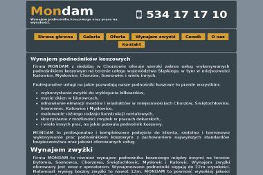 Mondam Damian Kawecki - Wynajem Zaplecza Budowlanego Katowice