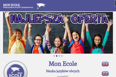 Mon Ecole - Nauka Języków Obcych - Kurs francuskiego Wołomin