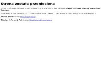 Miejski Ośrodek Pomocy Społecznej - Pomoc domowa Mszana Dolna