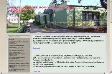 Miejski Ośrodek Pomocy Społecznej w Sierpcu - Pomoc domowa Sierpc
