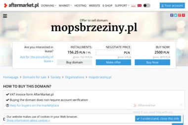 Miejski Ośrodek Pomocy Społecznej - Pomoc domowa Brzeziny