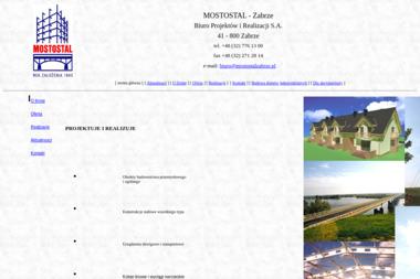 Mostostal Zabrze Biuro Projektów i Realizacji S.A. - Projektowanie Domów Zabrze