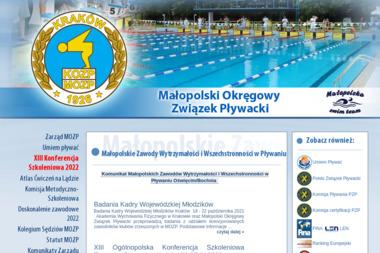 Małopolski Okręgowy Związek Pływacki - Kurs Prawa Jazdy Kraków