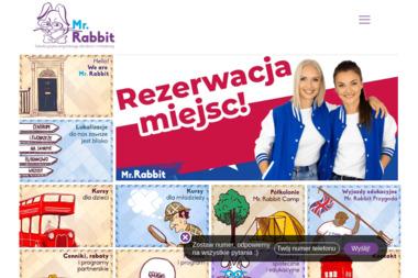 Mr. Rabbit Professional Children's School Of English. Szkoła, angielski - Szkoła Językowa Toruń