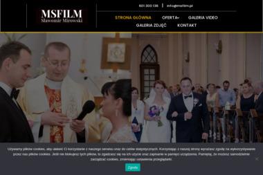 Profesjonalne Wideofilmowanie MSFilm - Wideofilmowanie Zgierz