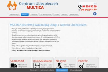 Centrum Ubezpieczeń MULTICA - Ubezpieczenie firmy Kołobrzeg