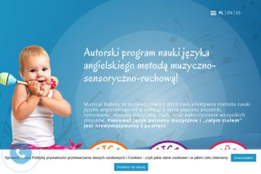 Musical Babies. Angielski dla dzieci, zajęcia dla dzieci - Nauczyciele angielskiego Białystok