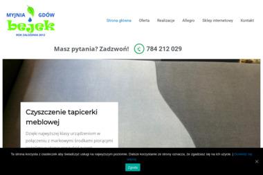 Mobilna Eko-Myjnia Bejek. Czyszczenie samochodów, czyszczenie tapicerki - Pralnia Dywanów Gdów