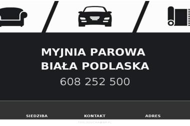 Mobilna Myjnia Parowa - Mycie Tapicerki Samochodowej Biała Podlaska