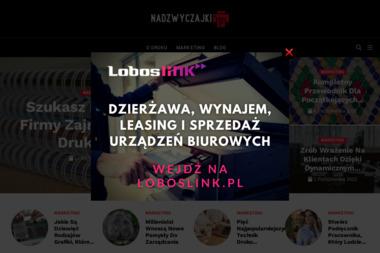 Nadzwyczajki.pl - Anna Pinkosz - Projektowanie Wizytówek Katowice