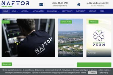 Naftor Sp.z o.o. - Agencja ochrony Warszawa