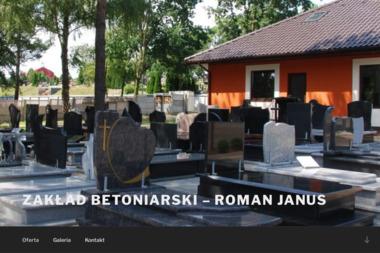 Zakład Betoniarski Roman Janus - Schody Marmurowe Bełchatów
