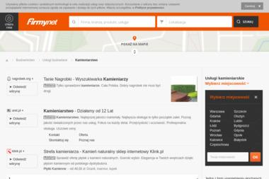 PHU Granit Grzegorz Nowakowski. Nagrobki, kamieniarstwo - Schody Granitowe Pińczata