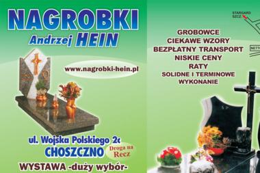 Wyrób Nagrobków Hein Andrzej - Kamieniarstwo Choszczno