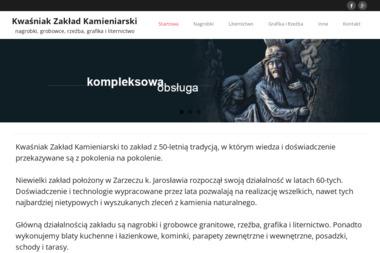 Kwaśniak Zakład Kamieniarski - Kamieniarz Zarzecze