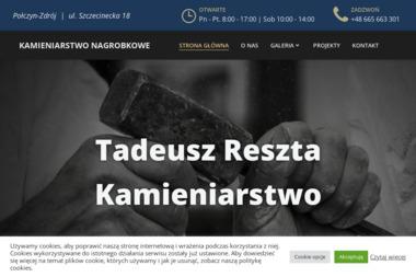 Kamieniarstwo Nagrobkowe Piotr Reszta. Nagrobki, wazony - Blaty Granitowe Połczyn-Zdrój