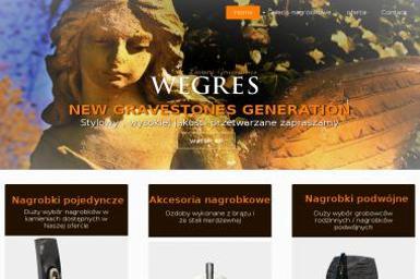 Nagrobki Wegres Luxury Gravestones - Blaty kamienne Rydułtowy