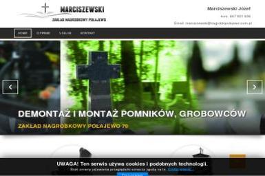 Zakład Nagrobkowy Marciszewski Józef - Nagrobek Podwójny Połajewo