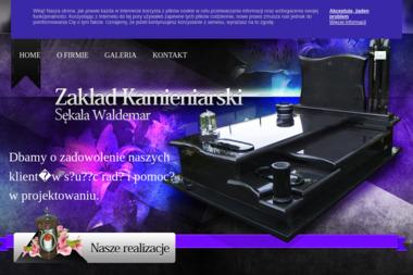 Mgr Waldemar Sękala nagrobki - Nagrobki Chechło