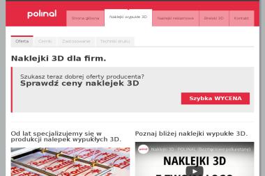Adverteam. Producent Nalepek Wypukłych 3D - Drukarnie etykiet Żnin