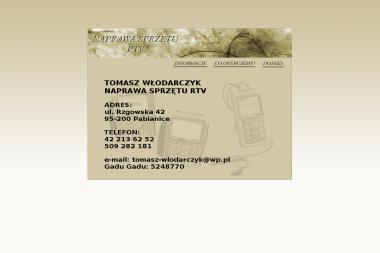 Teleradiomechanika.Tomasz Włodarczyk - Naprawy Tv Pabianice