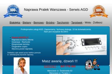Naprawa Pralek, AGD - Naprawa pralek Warszawa