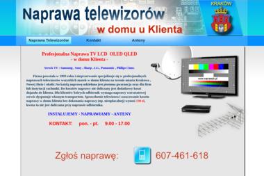 Robert Nowotny NAPRAWYTV.PL - Serwis RTV Kraków