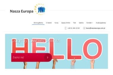 Dofinansowany Projekt Językowy NASZA EUROPA - Szkoła językowa Szczecin